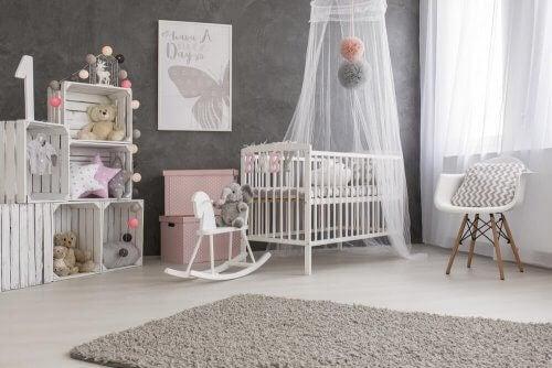 Kuinka sisustaa vauvan huone?