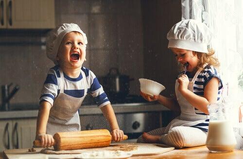 4 jälkiruokareseptiä perheen yhteiseen kokkaushetkeen