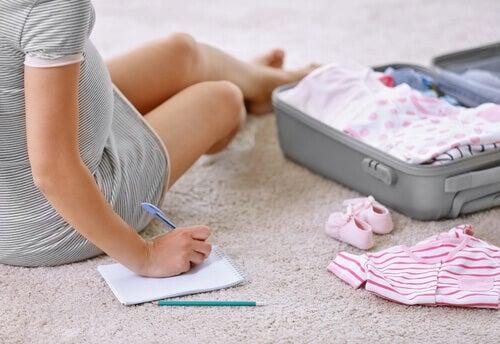 Synnytykseen valmistautuminen