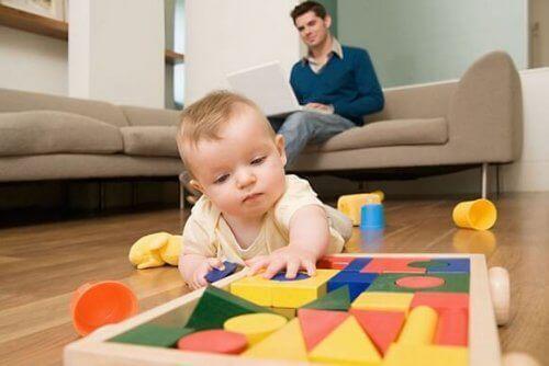 Lapsen motorisia taitoja kehittävät leikit