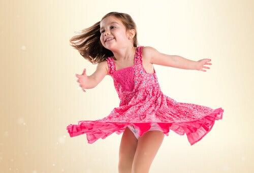 Tanssin hyödyt lapsille