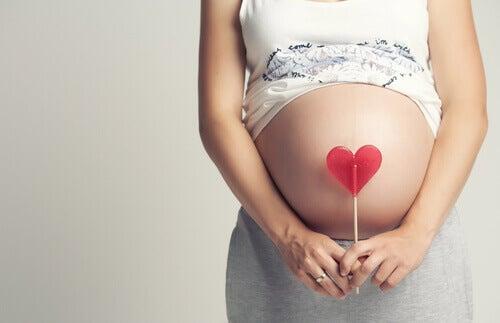 22. raskausviikko