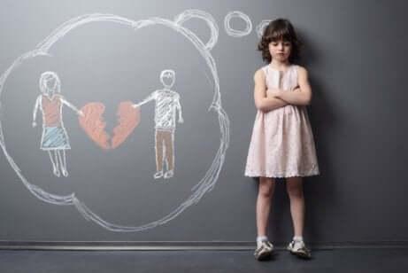 Perheen hajoamisen vaikutukset lapseen