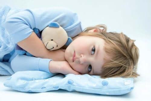 Unissakävely on yleinen unihäiriö lapsilla