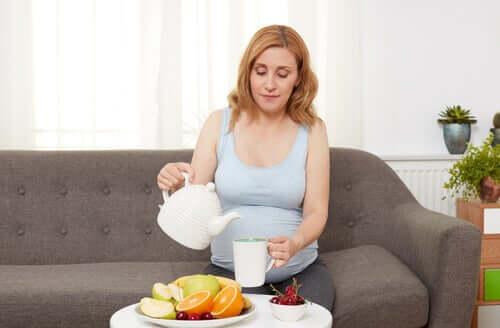 Ruoansulatusvaivat ja närästys raskauden aikana