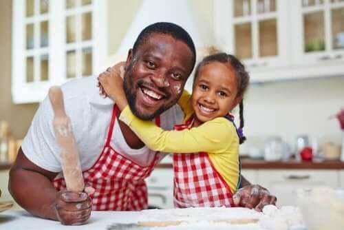 Lapsen kanssa kokkaamisen hyödyt