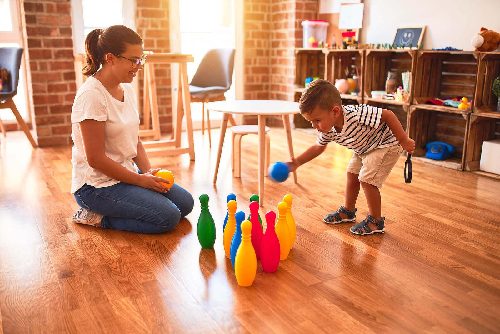 8 lapsen karkeamotorisia taitoja kehittävää leikkiä