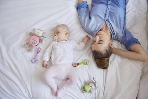 Kuinka voittaa synnytyksen jälkeinen stressi?