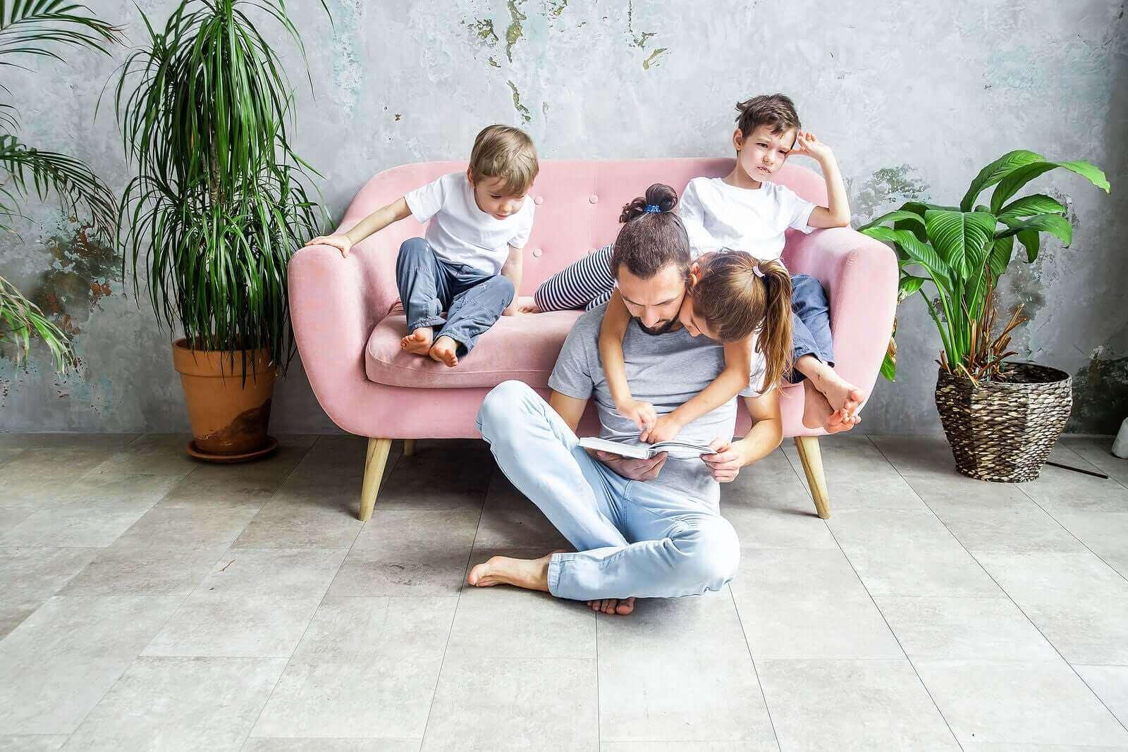 Lapselle kannattaa lukea päivittäin