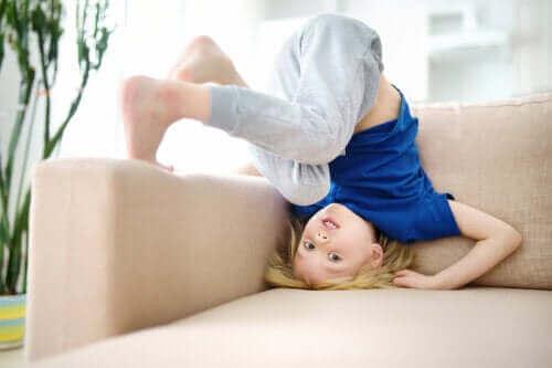Lapsen impulsiivinen käytös