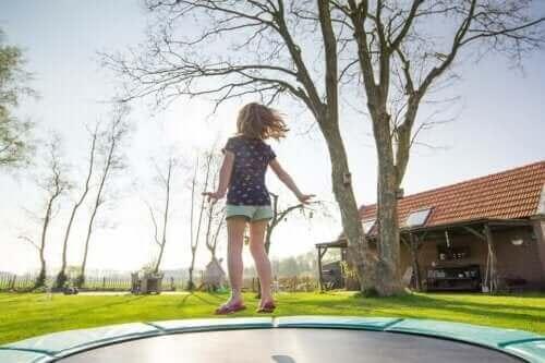 Kaikki lapset ovat erilaisia, toisilla lapsilla on enemmän energiaa käytettävänään kuin toisilla lapsilla.