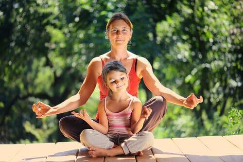 Mindfulness- ja meditaatioharjoituksia koko perheelle