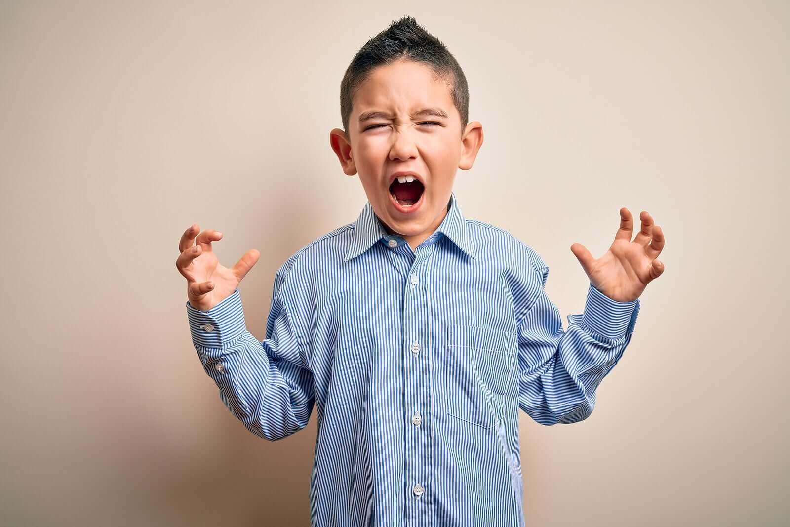6 menetelmää lapsen aggression ja vihan hallintaan