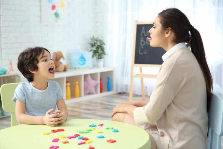 4 harjoitusta lapsen ärrävian korjaamiseksi