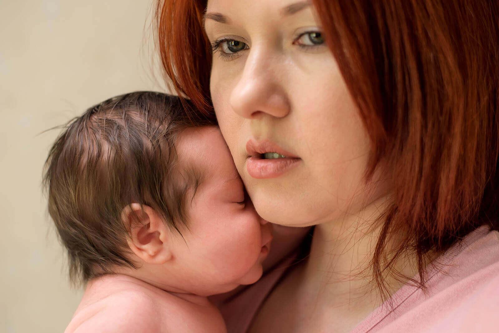 Synnytyksen jälkeinen ahdistuneisuus
