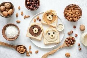 Pähkinöiden terveyshyödyt lapsille