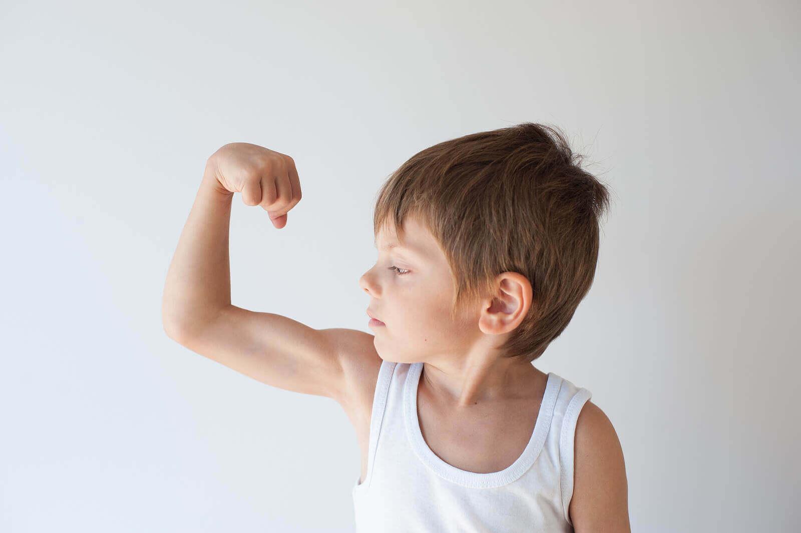 Jotkut lapset ovat yritteliäämpiä kuin toiset, sillä eri lapsilla on erilainen asenne työtä ja vaivannäköä kohtaan