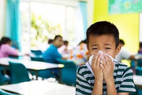 7 kouluikäisten lasten tarttuvaa tautia