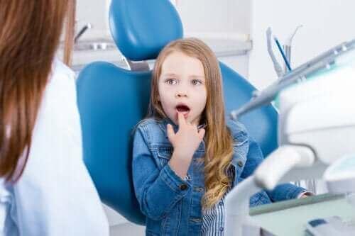 Lapsen herkät hampaat