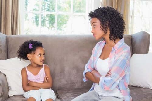 Milloin lapsen kanssa neuvotteleminen on tarpeen?