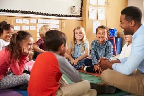 Hyvällä opettajalla on lapseen suuri vaikutus