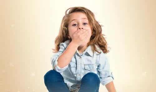 Suupielten tulehdus lapsella