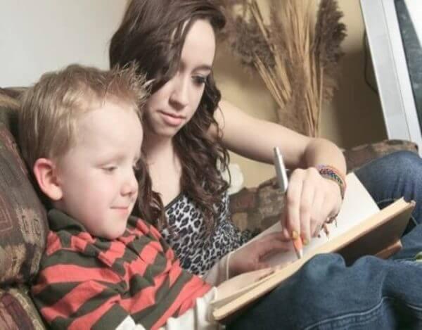 Lapsen ääneen lukemista voi kehittää erilaisten harjoitusten avulla